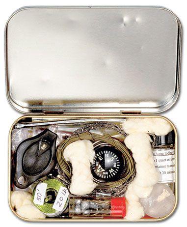Как собрать, изготовить аварийные наборы и комплекты для выживания, подбор и комплектация средств для добычи огня в наборах выживания.