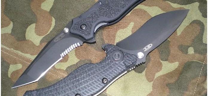 Складной нож Zero Tolerance Matte Black ZT0400ST, краткий обзор.