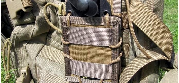 Адаптер модульный для ножен ножа с фиксированным клинком, производство компании Профессиональное тактическое снаряжение Шквал, обзор.