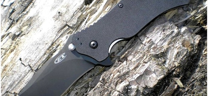 Складной нож Zero Tolerance Folding Model ZT0350, S30V Black TDLC Coating, Black G10 Handle, Plain Edge, обзор.