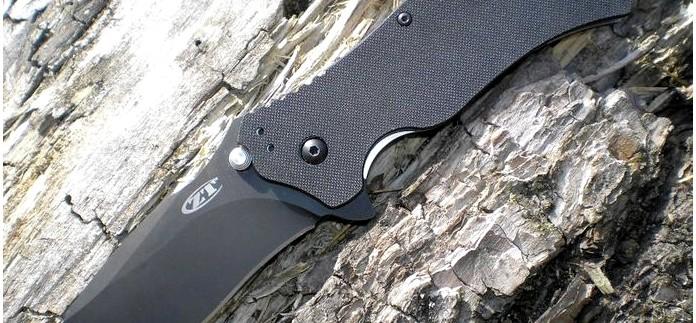 Складной нож Zero Tolerance Folding Model ZT0350, S30V Black TDLC Coating, Black G10 Handle, Plain Edge, обзор.