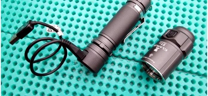 Тактический фонарь Klarus ST11 CREE XM-L2 LED, режимы работы, устройство, обзор и тест.