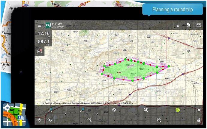 Лучшее приложение GPS для любителей активного отдыха