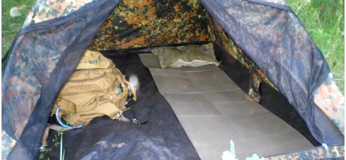 Двухместная туристическая палатка Iglu Super от Mil-Tec, характеристики, обзор, использование в разное время года.