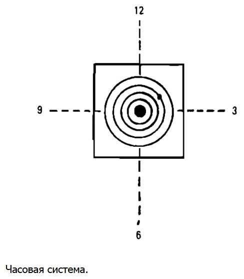 Наблюдение и корректировка стрельбы, словесное целеуказание, корректировка стрельбы с помощью часовой системы и при помощи визуальных ориентиров и тысячных.