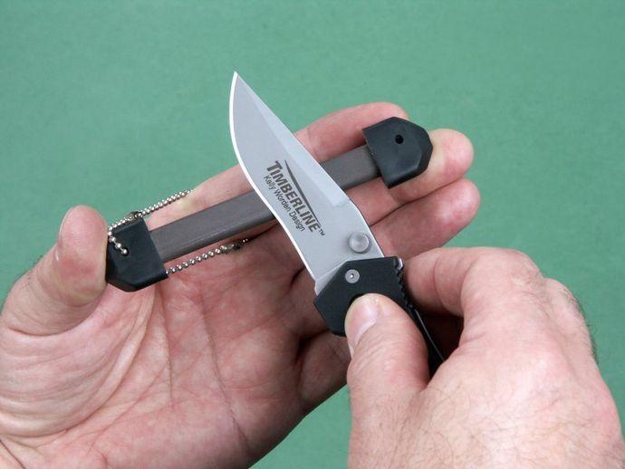 Портативные точилки Dog Bone от Lansky и GATCO, правка и заточка ножей точилками собачья косточка в полевых и походных условиях.