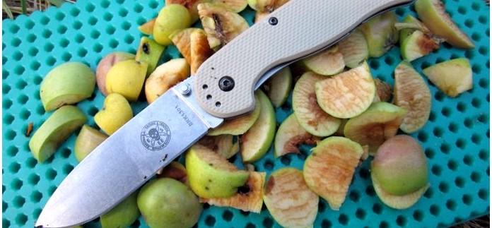 Складной нож ESEE Avispa Folder, AUS-8 Blade, характеристики, описание, устройство, впечатления от работы ножом ESEE Avispa по продуктам и дереву в полевых условиях, обзор.