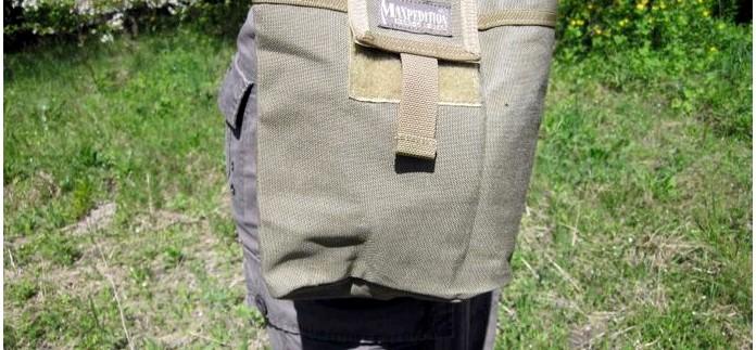 Складной подсумок Maxpedition Rollypoly MM Folding Dump Pouch, описание, характеристики, обзор.