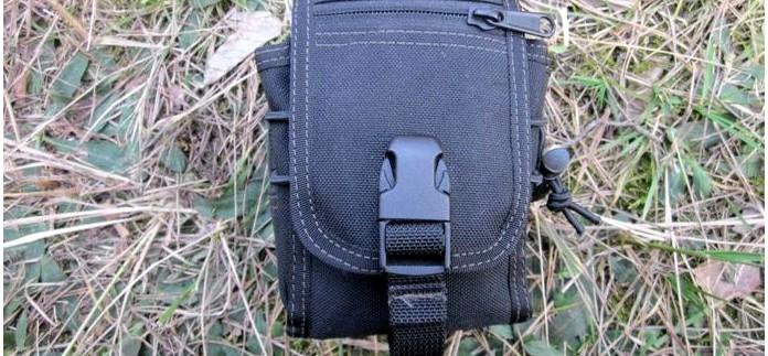 Универсальный поясной подсумок Maxpedition M-1 Waistpack, описание, характеристики, внутреннее устройство, обзор.