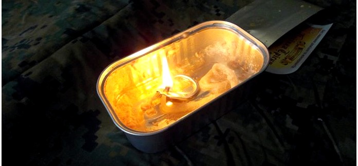 Жировая свеча, способы и особенности изготовления, возможное применение жировой свечи в аварийных и экстремальных условиях.
