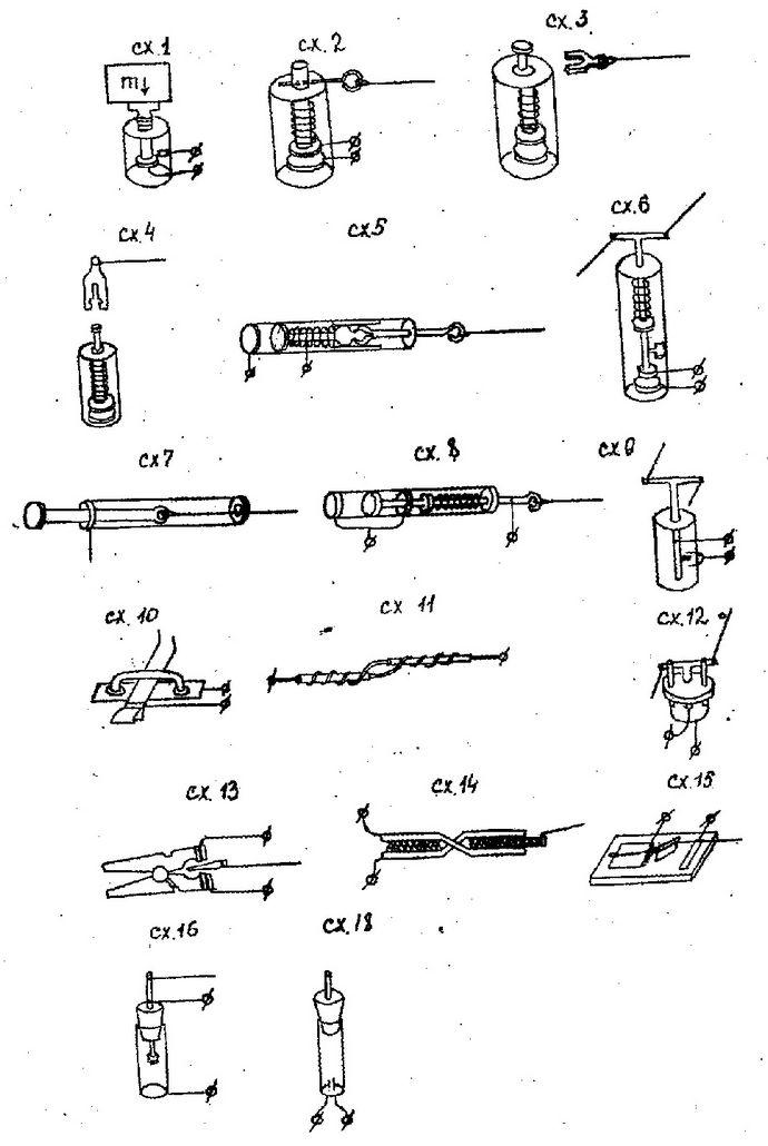 Самодельные разгрузочные реверсные электрозамыкатели для ловушек, особенности конструкции и установки.