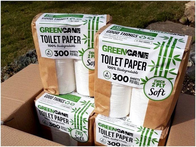 Биоразлагаемая туалетная бумага: не оставляет следов