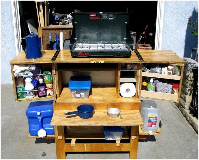 DIY camp: тратить гораздо меньше на снаряжение