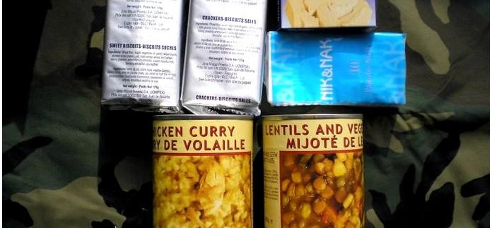 Французский индивидуальный продовольственный полевой рацион RAIR, состав рациона, обзор.