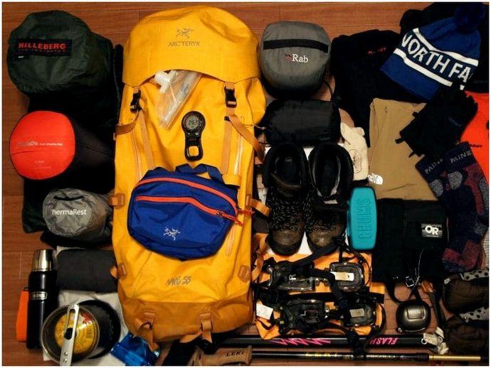 Как упаковать рюкзак: стратегии и тактика