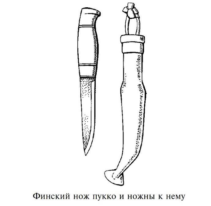Финский нож, происхождение, особенности, типы финских ножей, пукко и лапландский нож.