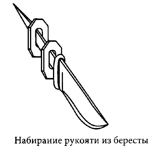 Изготовление цельной и наборной рукояти на клинок ножа, выбор дерева, вываривание и монтаж заготовки на хвостовик.