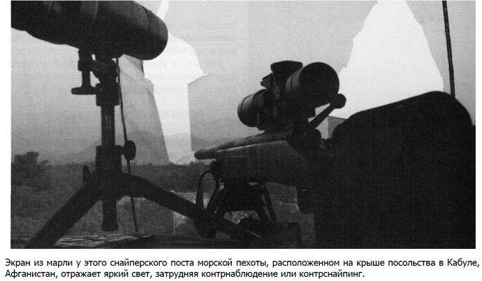 Основы маскировки стрелковой позиции подручными средствами, использование маскировочных сетей и экранов для маскировки стрелковой позиции.