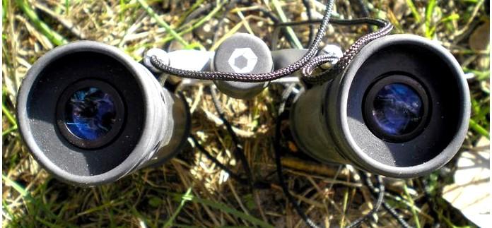 Компактный бинокль Barska 8 215;21 Trend Binoculars, Blue Lens AB10124, обзор.