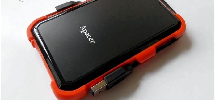 Ударопрочный защищенный внешний жесткий диск HDD Apacer AC630 Military-Grade Shockproof Portable Hard Drive, описание, конструкция, характеристики, обзор.