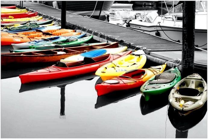 Лучшая рыбалка на каноэ: 7 факторов и 7 моделей