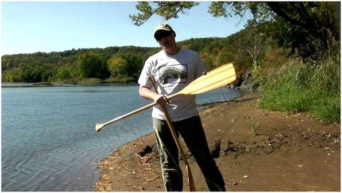 Canoe Rowing Zinc: Как правильно подобрать весло для каноэ
