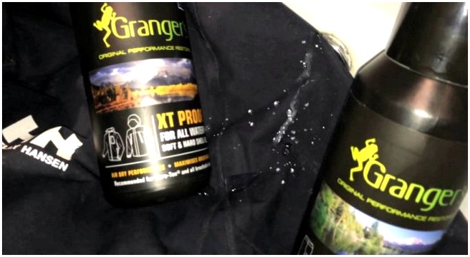 Gore Tex Spray: как сделать водонепроницаемой одежду водонепроницаемой спрей