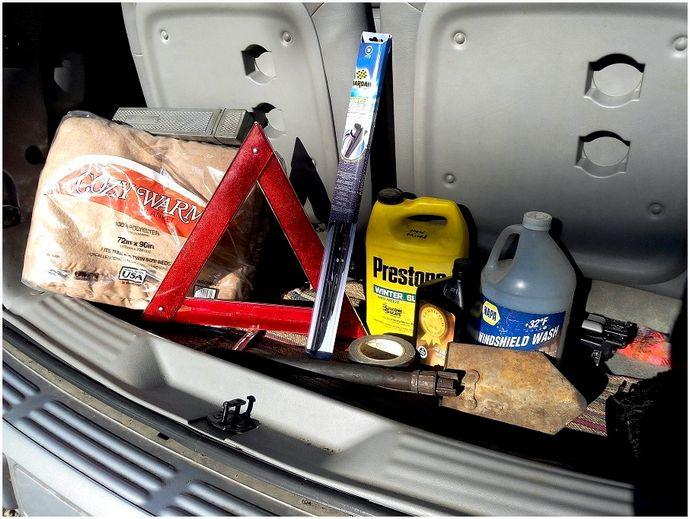 Автомобильный комплект для выживания: полная сумка Bug Out для The Road