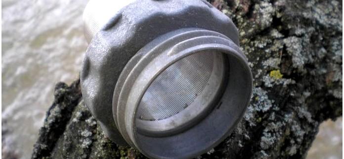 Фильтр для кофе и чая GSI Outdoors H2jO! Coffee Filter для бутылки Nalgene, описание, обзор, использование в полевых условиях.