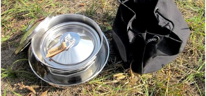 Набор походной посуды Primus CampFire Cookset S/S для костра, общие характеристики и краткий обзор.