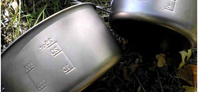 Набор туристической посуды из титана Snow Peak Ti-Multi Compact Cookset SCS-020T, характеристики, обзор и особенности конструкции.
