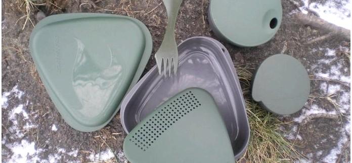 Набор туристической посуды Light My Fire Outdoor MealKit из пластика, описание, характеристики, обзор.