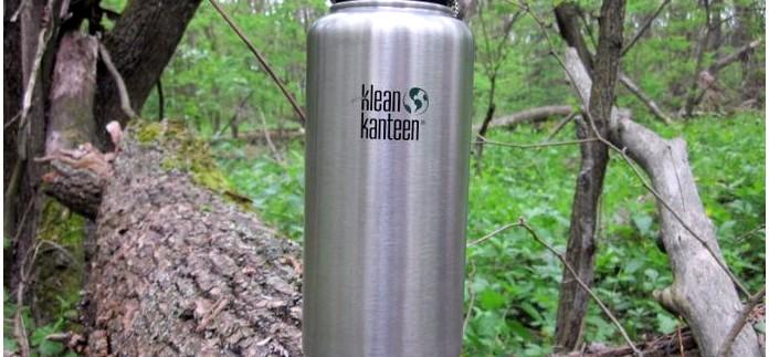 Походная бутылка для воды Klean Kanteen Wide 40 oz из нержавеющей стали, описание, характеристики, обзор и впечатления.
