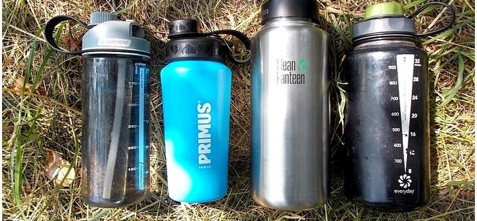 Сравнение походных бутылок Primus, Nalgene и Klean Kanteen, рабочие качества, функциональность, впечатления от использования, обзор.