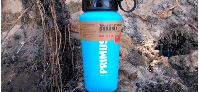 Походная фляга Primus TrailBottle S/S 0.6 L из нержавеющей стали, особенности устройства, применение, впечатления, обзор.
