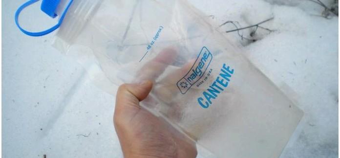 Складная емкость для воды, мягкая бутылка Nalgene Wide-Mouth Cantene 48 oz, характеристики, обзор, впечатления от применения в полевых условиях.