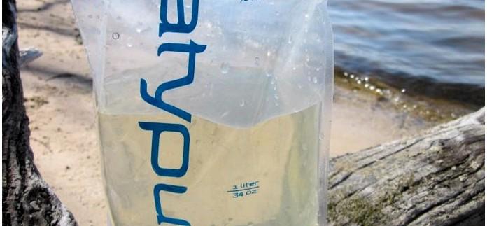 Складная мягкая бутылка для воды Platypus 2L Bottle, характеристики, обзор, использование в полевых условиях.