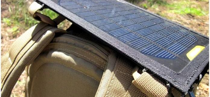 Солнечная панель Goal Zero Nomad 7 для заряда от солнца аккумуляторов АА и батарей электронных мобильных устройств в походных условиях, обзор.