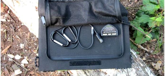 Солнечное зарядное устройство Allpowers X-Dragon 14 Watt для заряда аккумуляторов и мобильных устройств в полевых условиях.