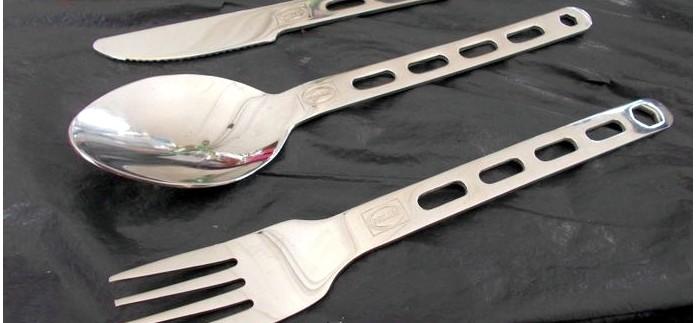 Столовый набор Primus Field Cutlery Kit из ложки, вилки и ножа, краткий обзор.