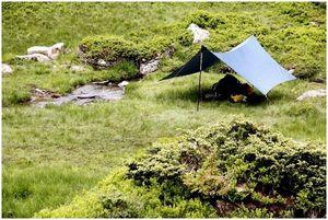Tarp Camping: новый способ спать в лесу
