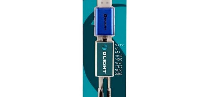 Универсальное зарядное устройство Olight UC Magnetic USB Charger для Li-ion, Ni-Mh, Ni-Cd аккумуляторов, характеристики и функциональность, обзор.