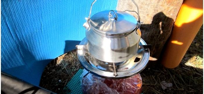 Выбор походного чайника, походные чайники Fire-Maple Feast T4 и GSI Glacier Stainless Tea Kettle, обзор.