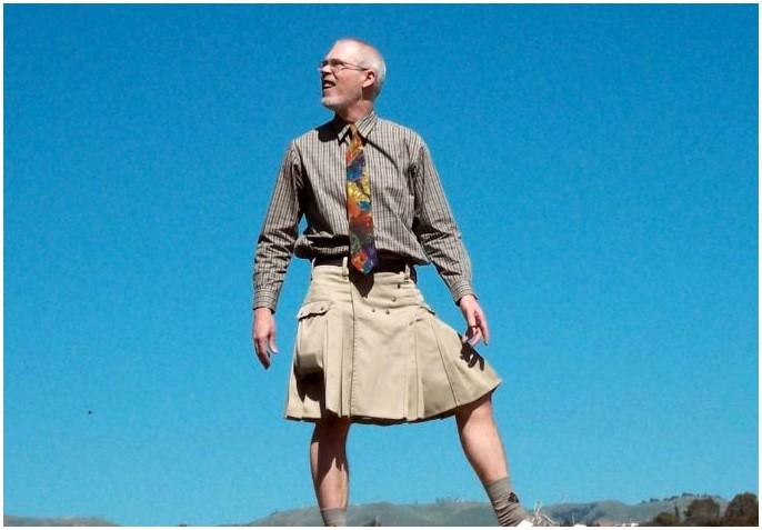 Лучшие пешеходные килты: настоящие мужчины тоже используют килты