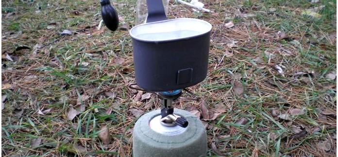 Компактная складная газовая горелка Primus Micron Stove, характеристики, особенности конструкции, обзор.