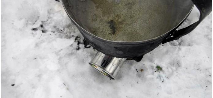 Легкая компактная дровяная походная печка Airwood Light BM с турботягой и поддувом, работа печки, кипячение воды на печке, обзор.