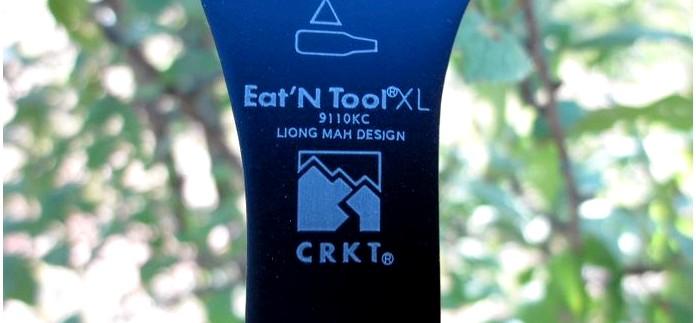 Многофункциональная ложка мультитул CRKT Eat'N Tool XL с набором инструмента, обзор и впечатления.