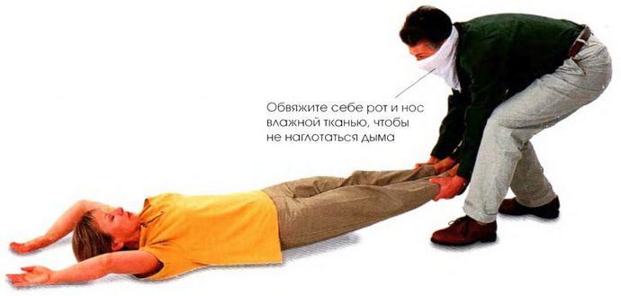 Отравление через дыхательные пути угарным газом и дымом, отравление через кожу и пищеварительный тракт, первая неотложная помощь.