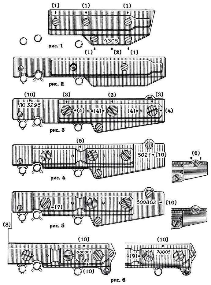 Планки для приборов ночного видения на 7,62 мм автоматах АКН, АКМЛ, АКМН и АКМСН, устройство и особенности размещения на автомате, обзор.