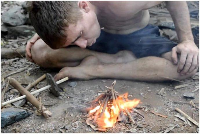 Начало огня с палками: пустыня 101